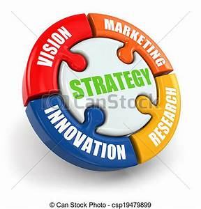 Stock Photographs of Strategy is vision, research ...