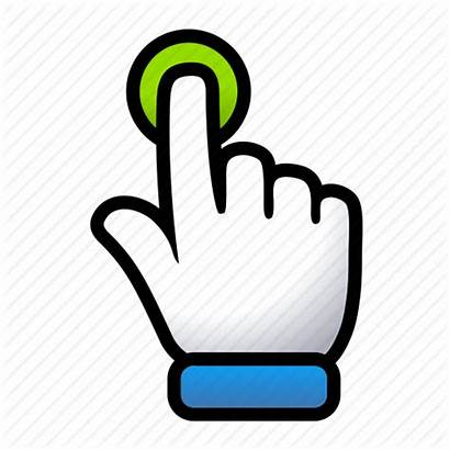 Touch Icon Hand Gesture Signs Gestures Editor