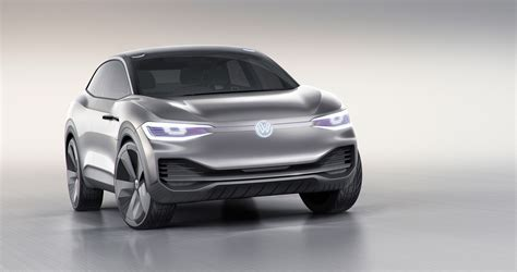 volkswagen previews future  electric crossover