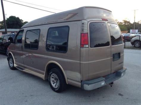 Buy Used Chevy Express High-top Conversion Van == Florida