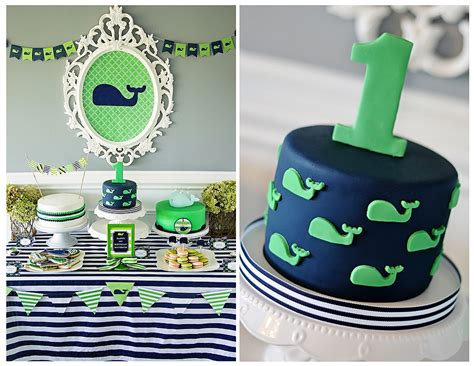 birthday party ideas 1st birthday party ideas maverick 39 s 1st birthday a preppy whale party project