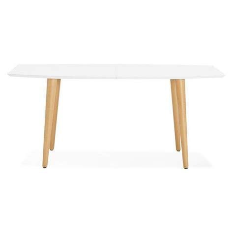 table  manger style scandinave avec rallonges trine en