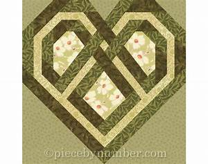 Celtic Knot Chart Celtic Heart Quilt Block Paper Pieced Quilt Patterns Instant