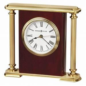 Howard, Miller, Rosewood, Encore, Bracket, Mechanical, Table, Clock, 645104