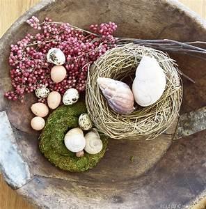Schale Dekorieren Frühling : diy fr hlingsdeko f r schale holzschale tischdeko nat rlich fr hlingshafte deko eier ostern deko ~ Cokemachineaccidents.com Haus und Dekorationen