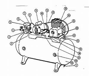 Craftsman 10217061 Air Compressor Parts
