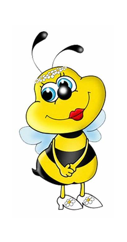 Bee Bumble Bees Clipart Honey Printable Template