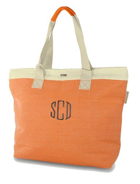 monogram cute beach bag