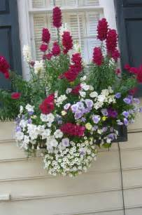 Box Window Summer Flower Arrangements
