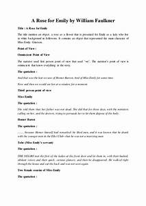 How To Write An Essay For High School A Rose For Emily William Faulkner Essay Essay On Healthy Foods also English Essay Books William Faulkner Essays Find College Papers Online A Rose For Emily  Essay In English