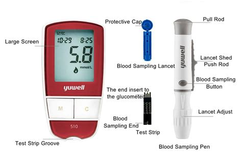 yuwell  household glucometer blood    pm
