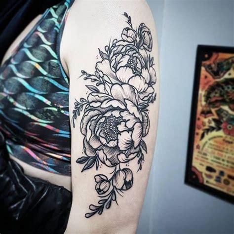 peony tattoo ideas     wild