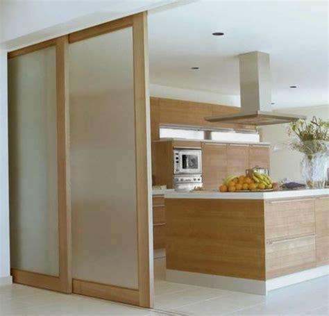 porte cuisine coulissante porte coulissante pour cuisine ouverte cuisine en image