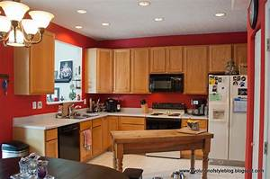 kitchen kitchen paint colors with oak cabinets and white With kitchen colors with white cabinets with wall art tropical