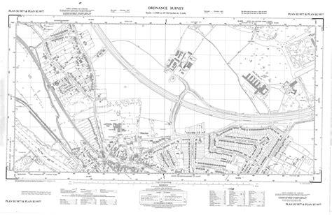 Ordnance Survey Maps 1960s-1970s Scale 1