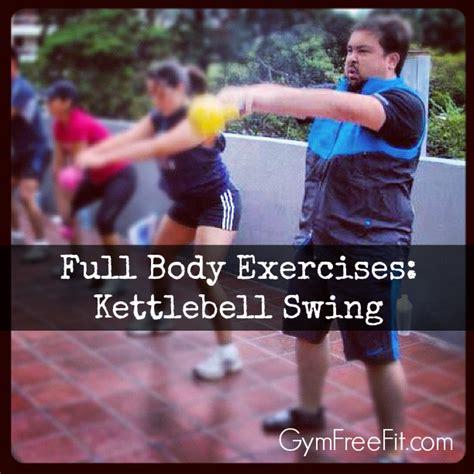 body kettlebell exercises swing move