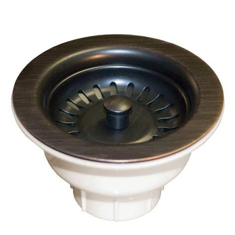 3 12inch Kitchen Sink Drain Basket Strainer (dr320