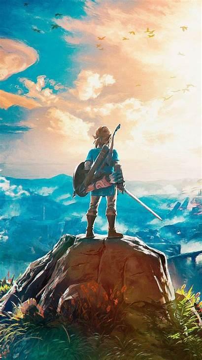 Zelda Legend Wallpapers Breath Wild Mobile Botw