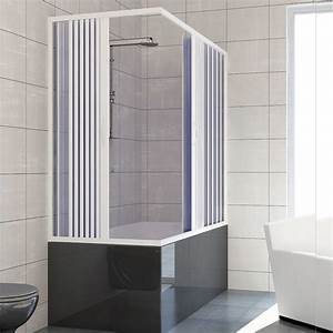 Baignoire Douche Leroy Merlin : pare baignoire douche en plastique pvc mod nadia avec ~ Dailycaller-alerts.com Idées de Décoration