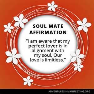 Soul Mate Affirmation