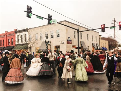 dickens of a christmas in downtown franklin nashville guru