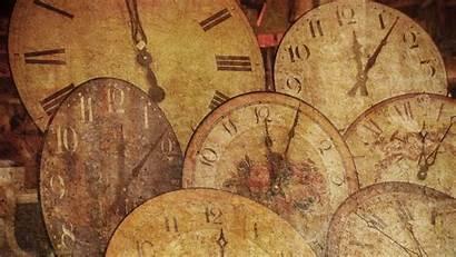 Clock Antique Wallpapers Desktop Texture Arrow Backgrounds
