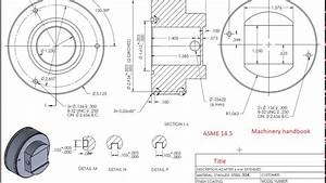 Reading Engineering Drawings And Symbols Tutorial - Part 2  Cont
