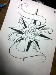 Old School Compass Tattoo Designs