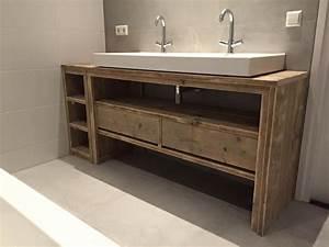 Meuble Bois Salle De Bain : meuble salle de bain de chez pays bois meubles salle de bain pinterest meuble salle de ~ Preciouscoupons.com Idées de Décoration