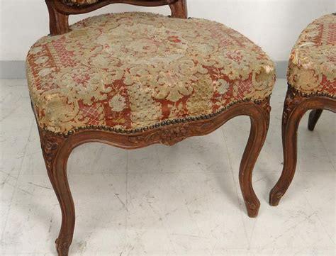 chaises louis xv cannées paire chaises louis xv bois sculpté fleurs estille