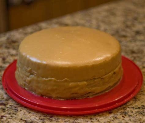 caramel cake recipe dishmaps