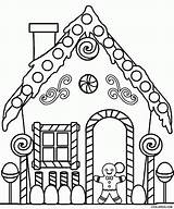 Coloring Printable Pages Houses Cardboard sketch template