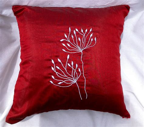 Red Decorative Pillows For Couch Bloggerluvm