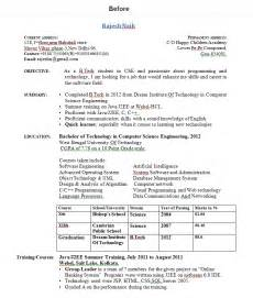 download resume format for btech freshers pdf to excel how to write resume for freshers
