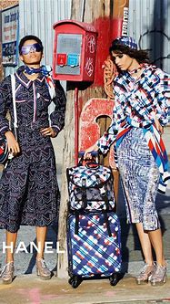 Chanel Spring Summer 2016 Ad Campaign Featuring Trolleys ...