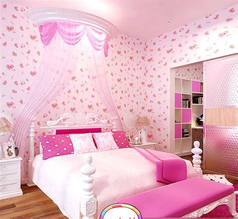 pink wallpaper  girls room wallpapersafari