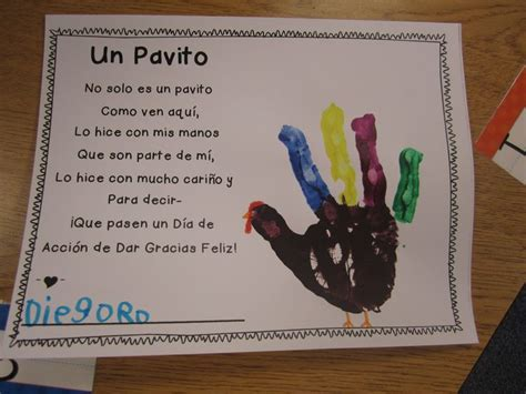 thanksgiving poems  spanish  kids google search
