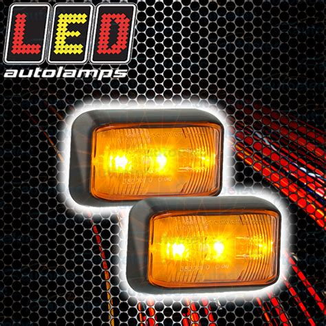 led lights clearance 2x led side marker trailer clearance light lights l