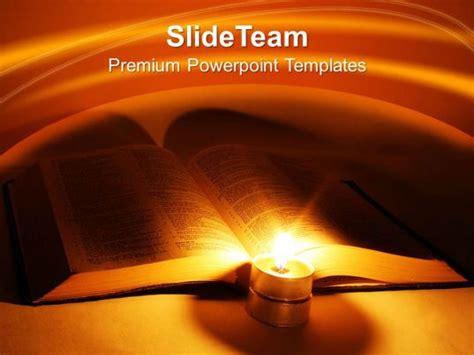 bible cross powerpoint templates religion teamwork