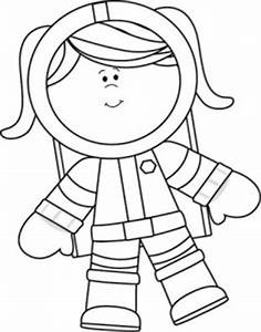 Free printable Astronaut coloring page | Crafts and ...