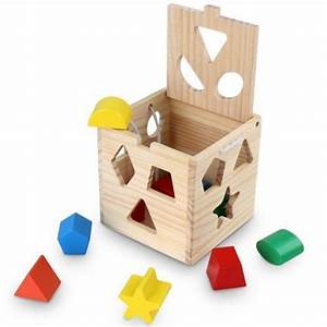 Feuchtes Holz Erkennen : kleinkinder spielzeug holz kinder lern spiele steck motorik w rfel formen farben holzspielzeug ~ Whattoseeinmadrid.com Haus und Dekorationen