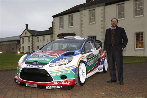 2011 Ford Abu Dhabi Fiesta Rs Wrc Rally Car