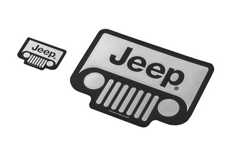 jeep grill decal plasticolor 174 3029 classic emblemz jeep 174 grille decal