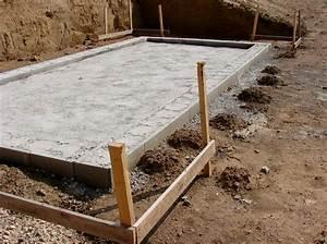fondations d39un garage les etapes pour les realiser With fondation pour un garage en parpaings