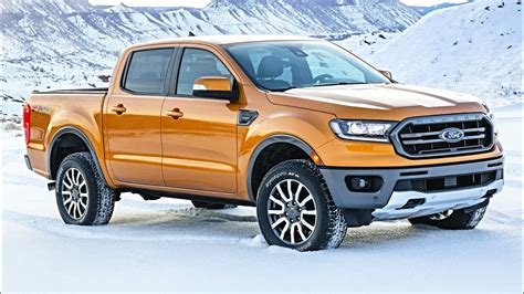 2019 Ford Ranger (rival Of Toyota Tacoma)  Allnew Ford