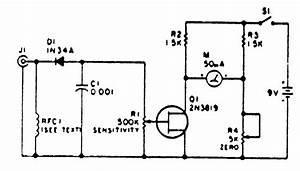 Simple Amplified Field Strength Meter
