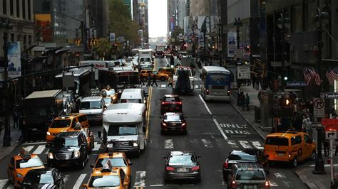 Traffic Jams Worsening In New York And Nationally