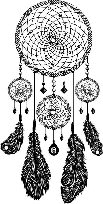 Dreamcatcher (Black & White) Art Print by 83 Drops