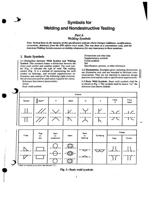 Welding Symbology