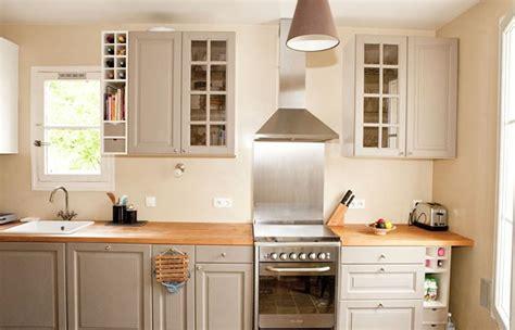 deco cuisine grise armoires de cuisine moderne idees blanc